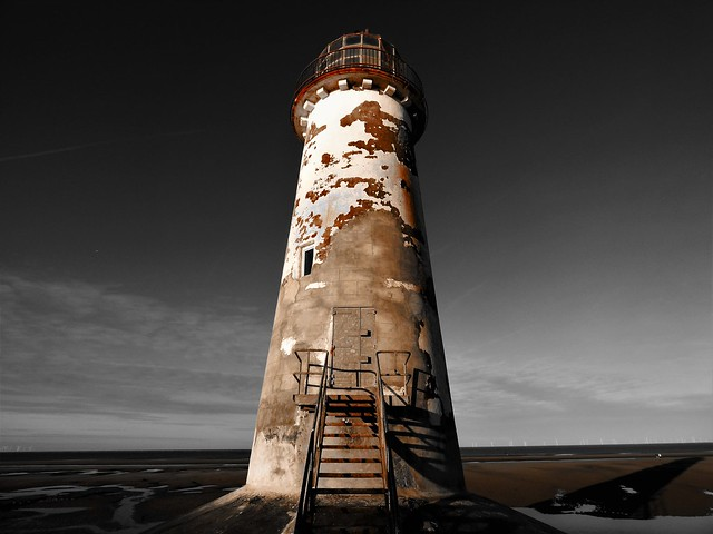 A Moody Looking Talacre Lighthouse
