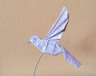 Hummingbird by Tomasz Krawczyk | by Tomasz Krawczyk Origami