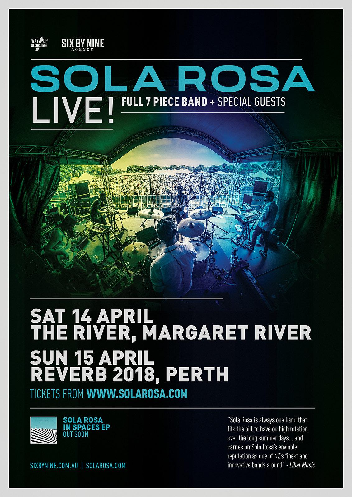 West Australian Shows Poster 2018