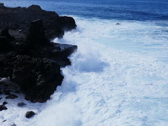 Stormy Seas near La Bombilla