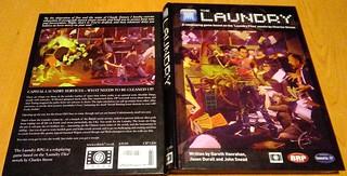 The Laundry - Portada   by sectario001