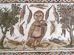 El Djem Owl Mosaic