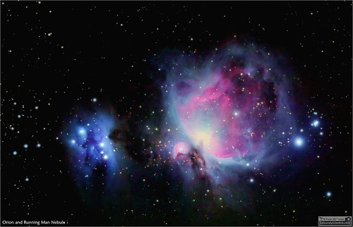 tomwildoner night sky deepsky space outerspace telescope celestron cgemdx asi190mc astronomy astronomer science canon canon6d deepspace guided weatherly pennsylvania observatory darksideobservatory stars star leisurelyscientist leisurelyscientistcom tdsobservatory orionnebula orion runningmannebula m42 m43 february 2018 ngc1977 ngc1973 esprit 120ed refractor astrometrydotnet:id=nova2421061 astrometrydotnet:status=solved
