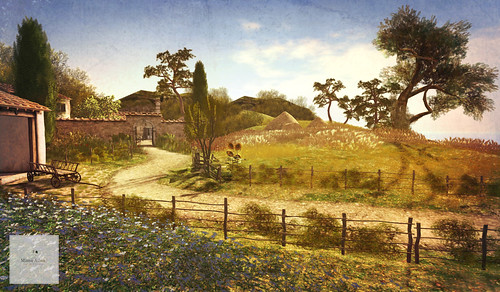 Client work. Landscape and Sim Design (French Farmhouse and Countryside #1) | by Minnie Atlass -Soul2SoulSL