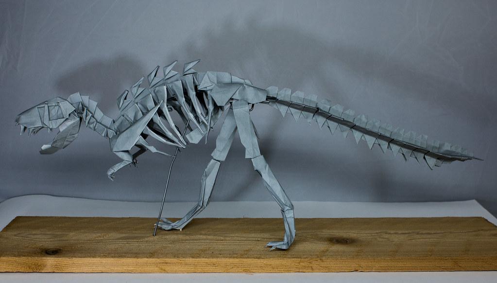Origami T-Rex 2.0 Demo 1 (Henry Phạm) - YouTube | 582x1023