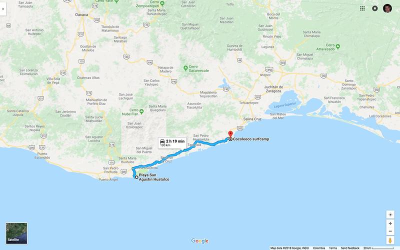 San Agustin to Cocoleoco