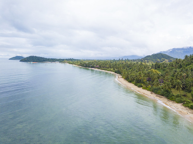Koh Samui Beach from above