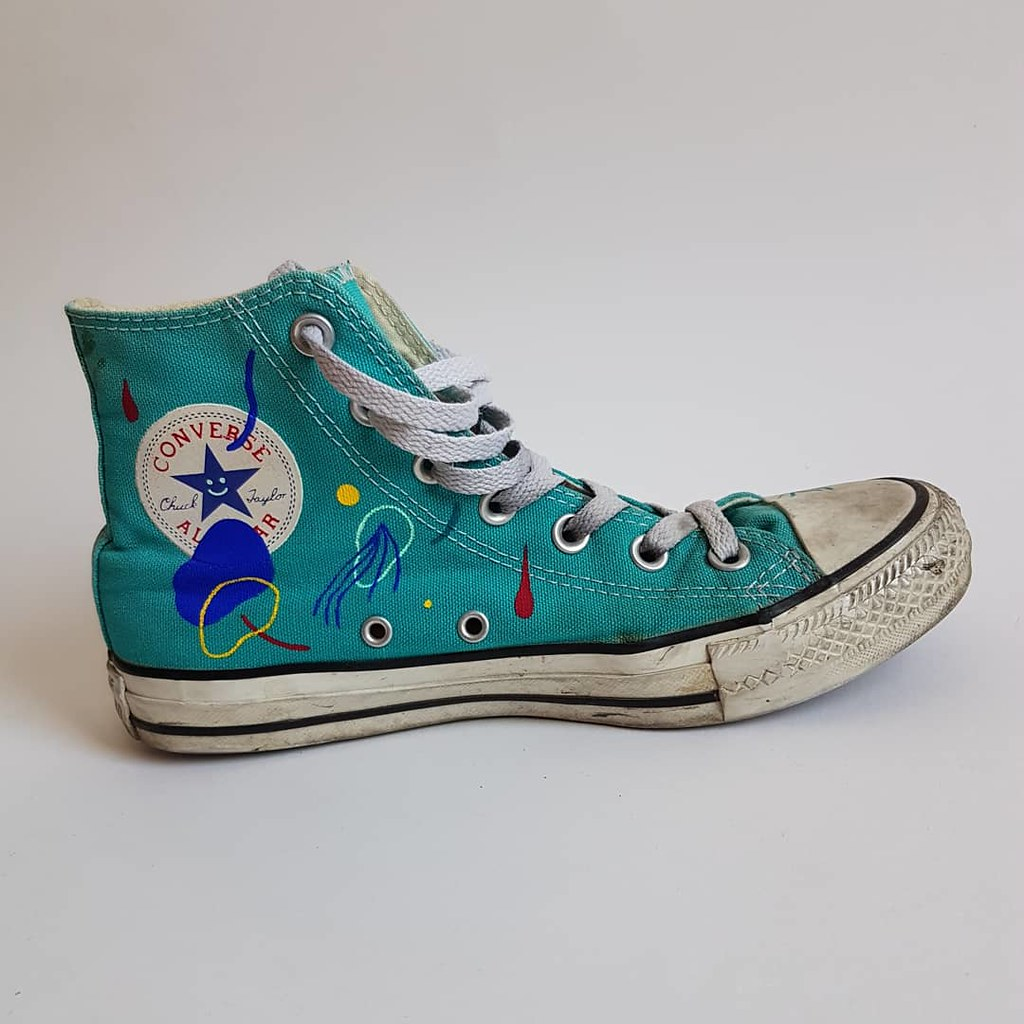 781508115dd8 ... painted Converse