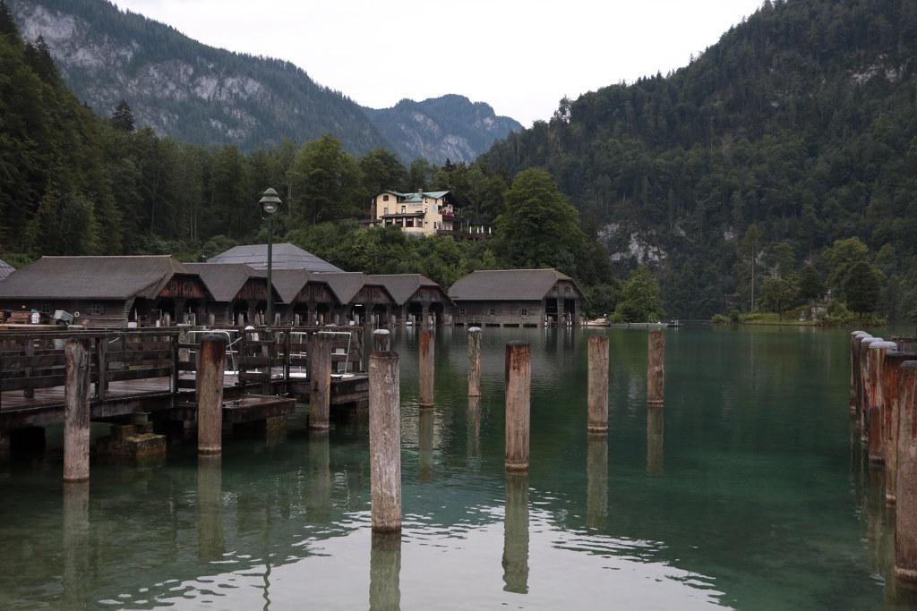 Approdo del lago di Königssee