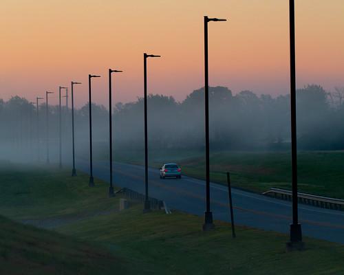 2016 landscape scene sunrise bentonville arkansas unitedstates us