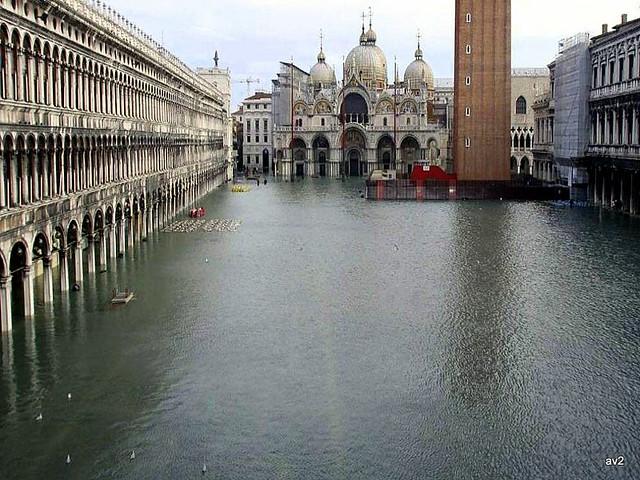 Aquella tarde llovió en Venecia.