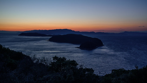 和歌山市 和歌山県 japan 夕景 sunset 海 seashore 淡路島 友ヶ島 四国 加太