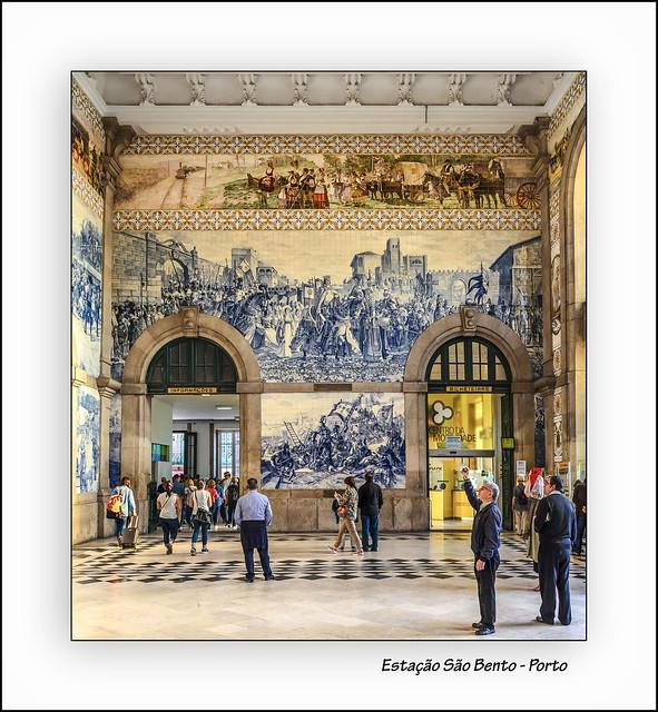 Estacion de San Bento - Oporto