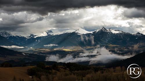 """""""Le Trièves après la tempête"""". Isère, France."""