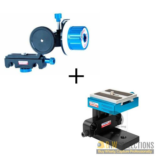 Buy Wondlan Quickfit Follow Focus + Base Plate At Rs.35,000 Highlights :- 2 gear rings, 1 Crank, Wondlan Quickfit Follow Focus Place Order Here :- http://bit.ly/2CKAk2E Delivery Available In All Over Pakistan Hassle FREE To Returns Contact # (+92) 03-111-
