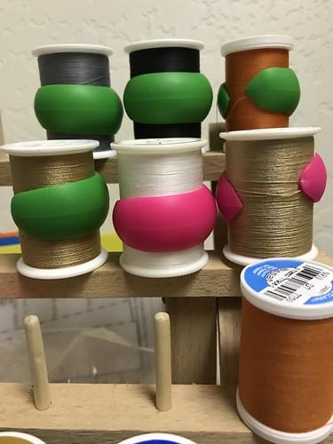 Thread tail containment | by konarheim