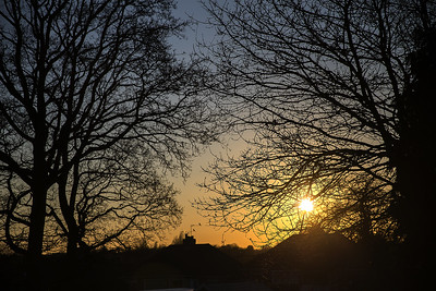 20180225_Sunset before the snow