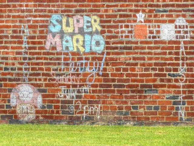 Message Board in Brick