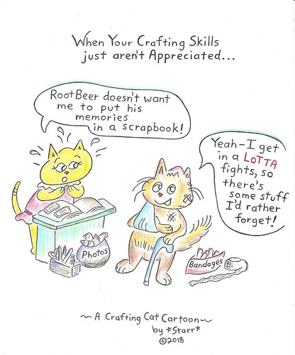 CraftingCatRootBeer | by Starr and Jordan
