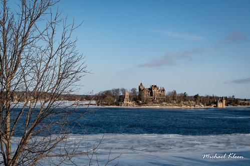 Boldt Castle and St. Lawrence River