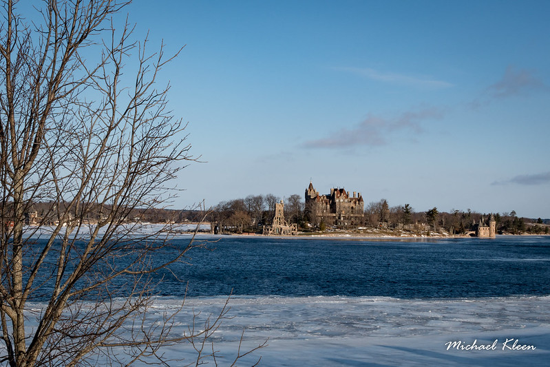 Boldt Castle and St. Lawrence River