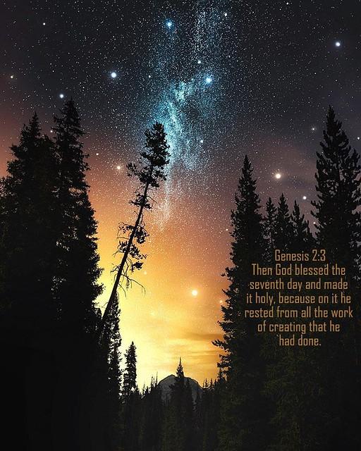 Genesis 2:3 niv