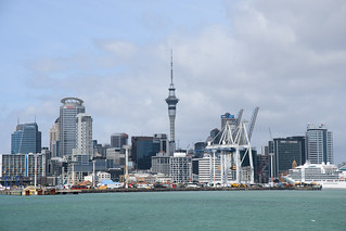 Downtown Auckland from the ferry | by Zack A.