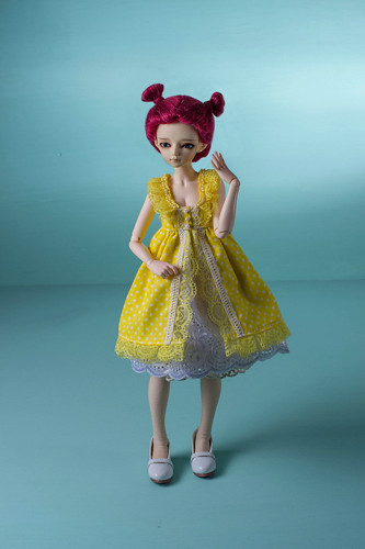 Yellow Fairy dress for minifee | by Timeless Wizard