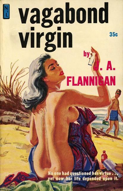 Newsstand Library 518 - J.A. Flannigan - Vagabond Virgin
