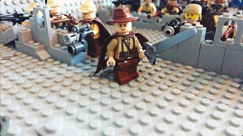 Lego resistance vs army men