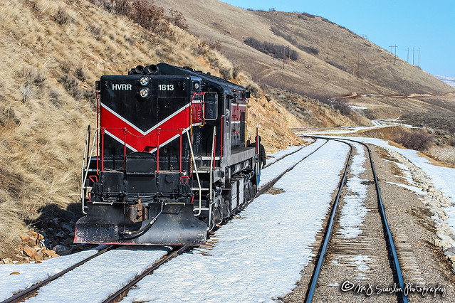 HVRR 1813 | EMD MRS1 | Heber Valley Railroad