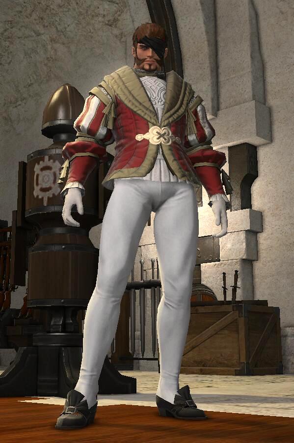 ffxiv | Prince costume MOD for FINAL FANTASY XIV Online