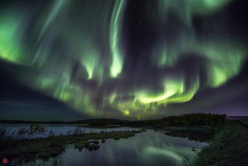 Northern lights, Murmansk, Russia | by mike.ilchenko