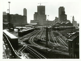Railway tracks in shunting yards, Auckland. | by Archives New Zealand