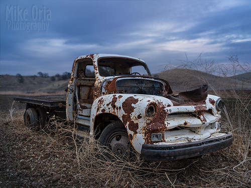 truck chevy chevrolet 1954 50s 1955 54 55 outdoor rust rusty old antique abandoned derelict farm rural brentwood california 645 645z mikeoria photography f56 dfa35 35mm