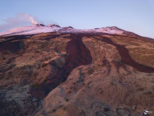 etna sicilia etnasud tramonto
