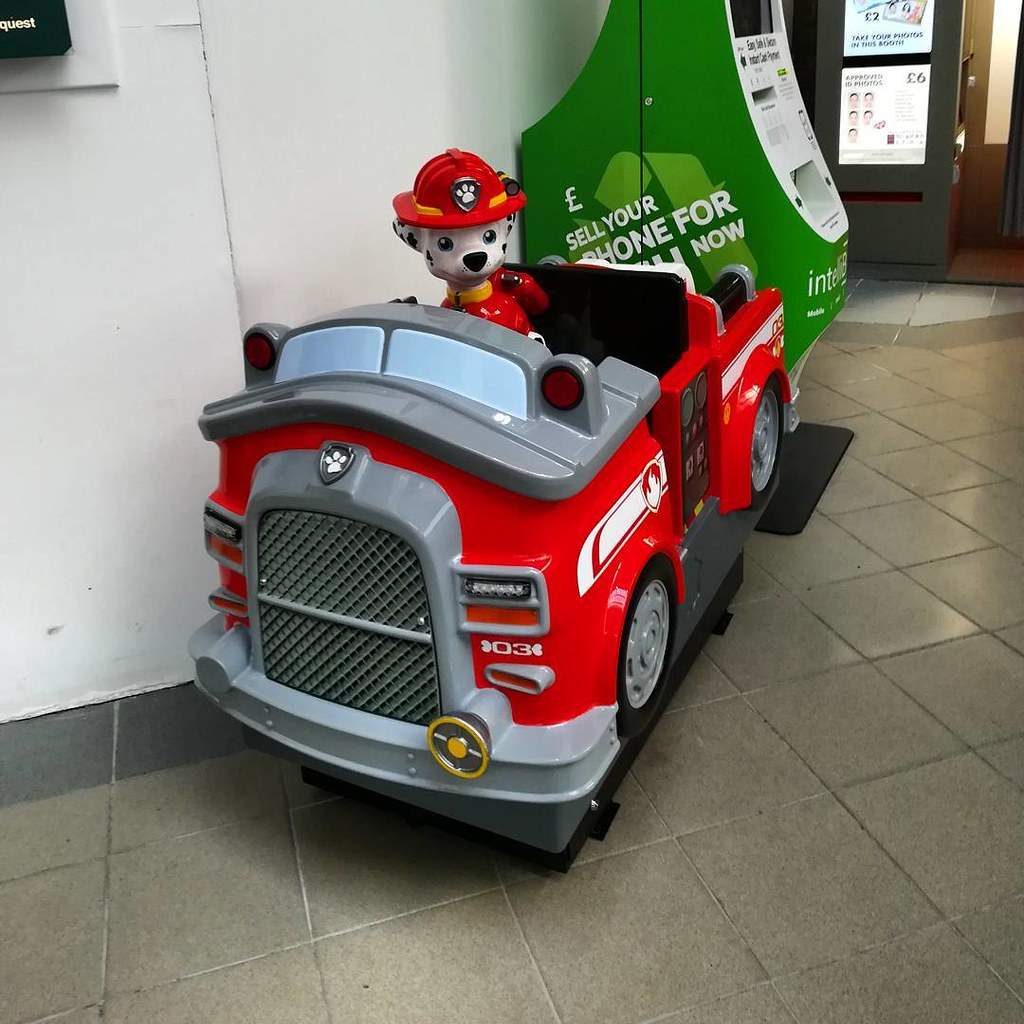 Northern Leisure Paw Patrol Marshall Fire Truck Kiddy Ride Flickr