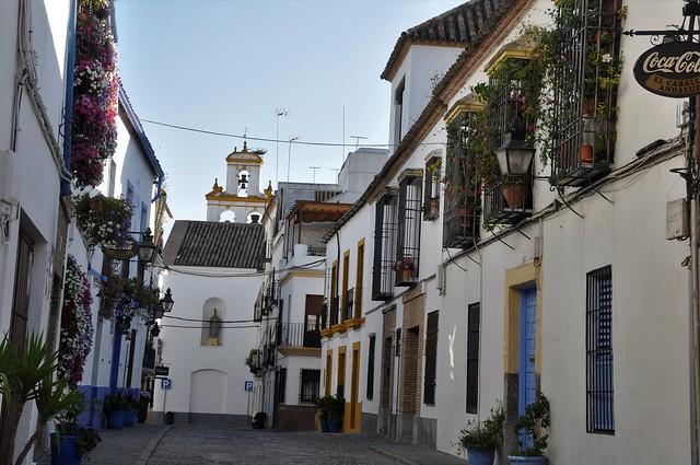 calle en el barrio de san Basilio-cordoba