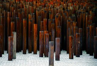 Iron sculpture, Budapest, Hungary