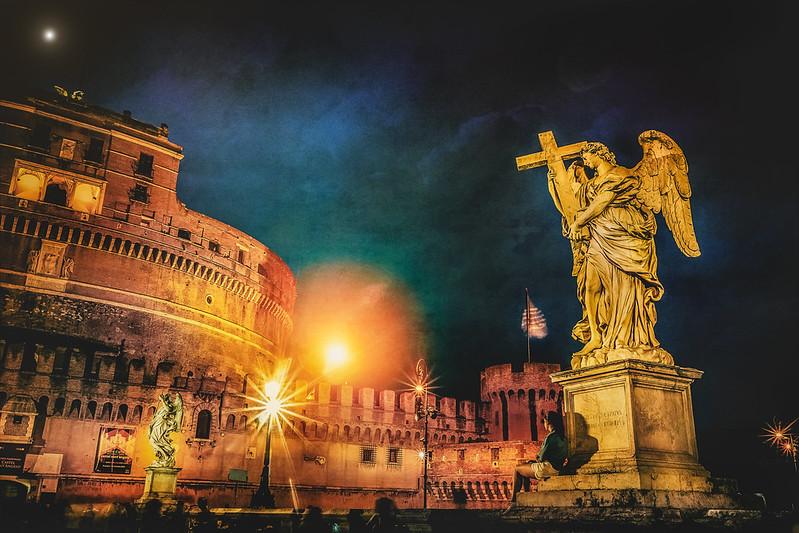 Rome, angel