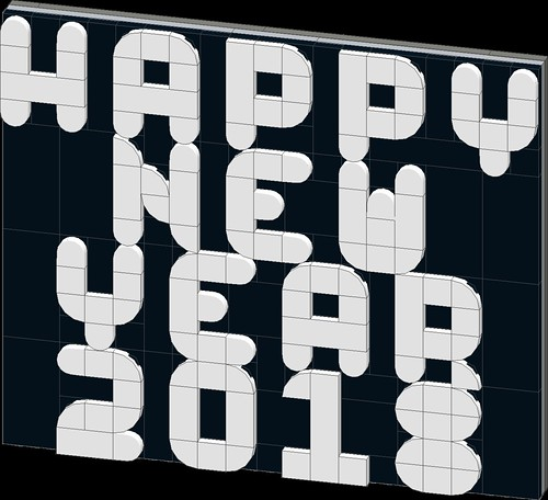 happy new year 2018 | by Bill Ward's Brickpile