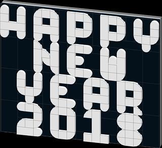 happy new year 2018 | by Bill Ward's Brickpile