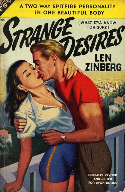 Avon Books 201 - Len Zinberg - Strange Desires