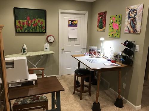 Sewing space   by konarheim