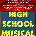 QP Highschool Musical Poster