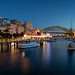 Image: Lavender Bay on a Summer Night