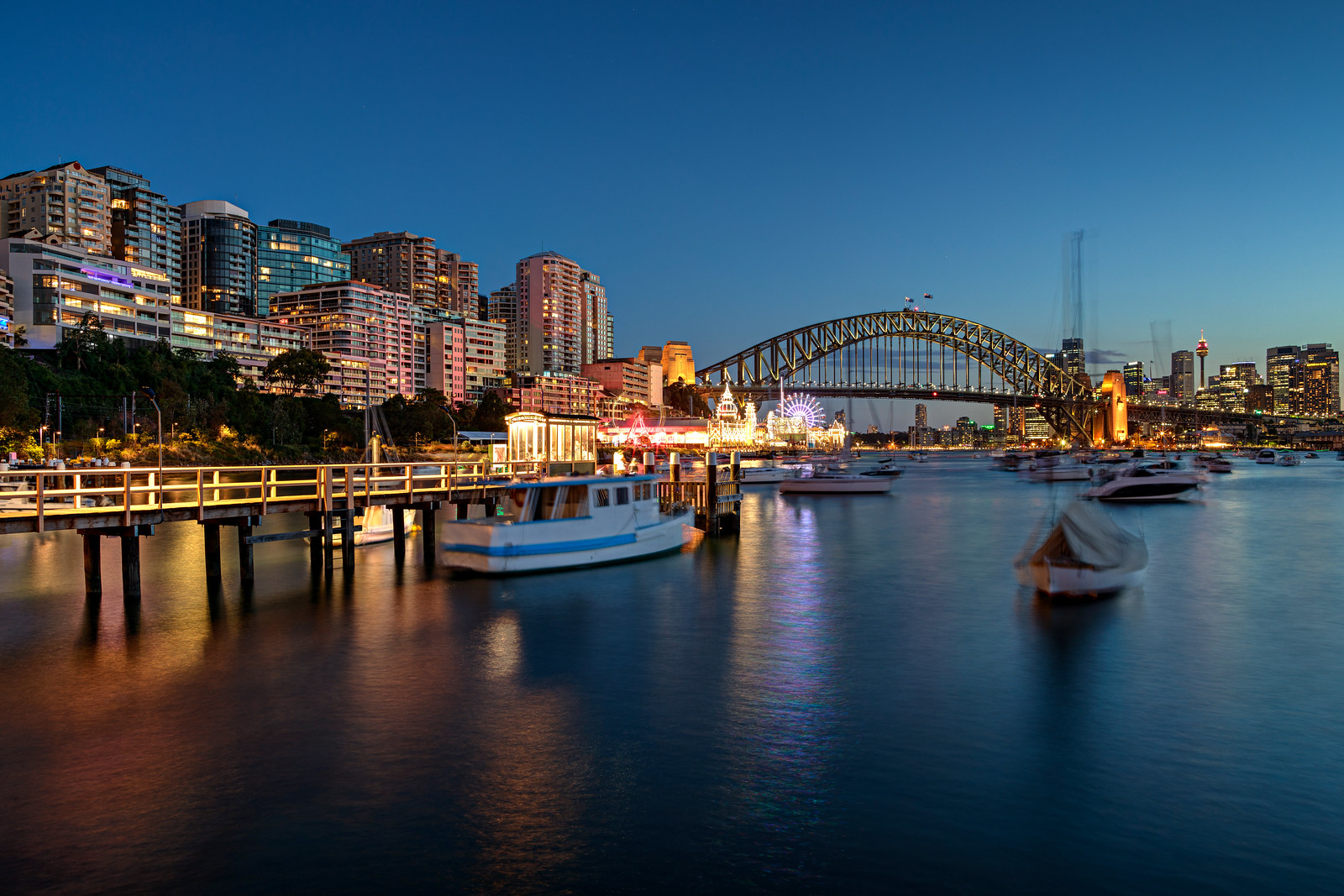Lavender Bay on a Summer Night