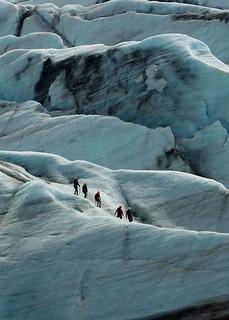 Ice world.