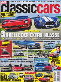 Auto Zeitung - Classic Cars 7/2016
