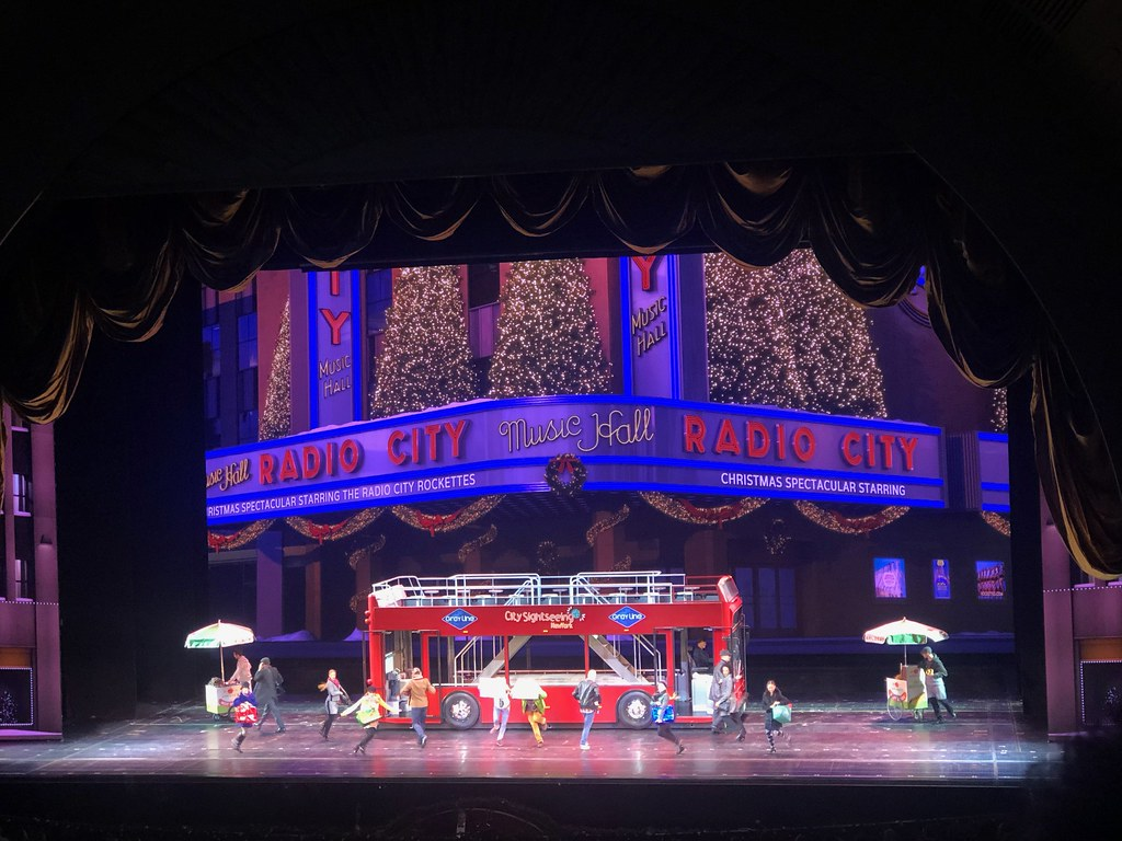 Part of the Christmas Spectacular at Radio City Music Hall
